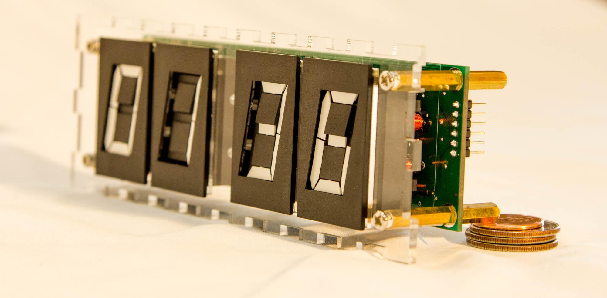 Led Circuit Schematic On Digital Clock Schematics 7 Segment Display